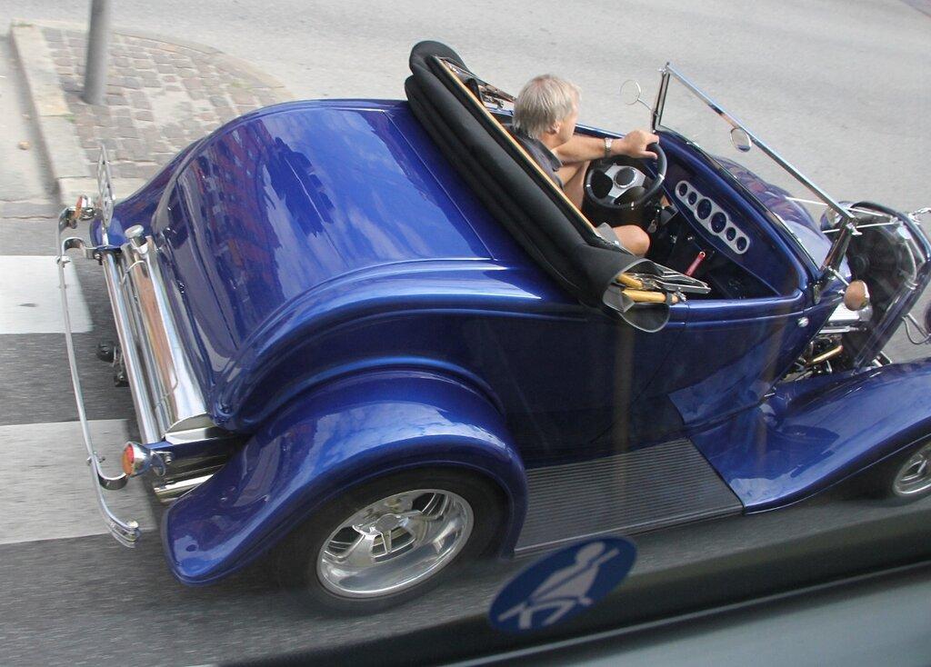 Копенгагена.  Copenhagen. репликар, replcar. Lincoln Motors Company K-Class Towncar
