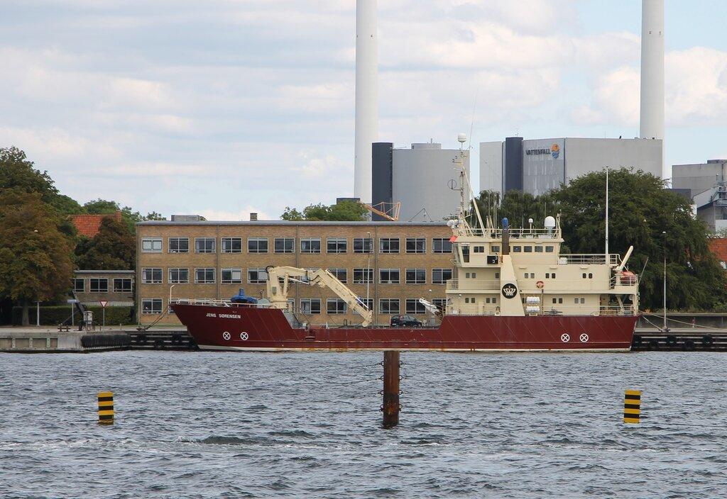 Копенгаген. База ВМФ Хольмен