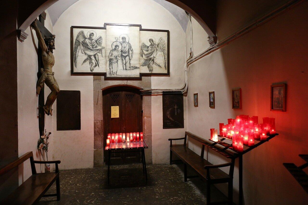 Барселонета. Церковь Сан-Мигель-дель-Порт (Iglesia San Miguel del Port)