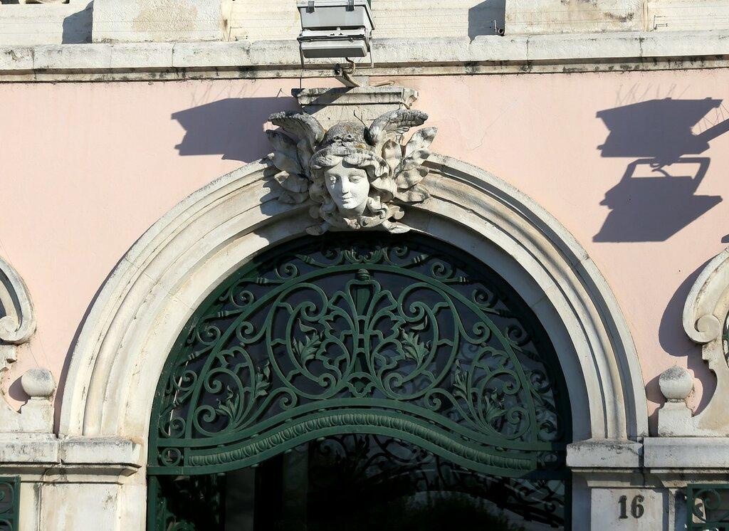Коимбра. Здание Банка Португалии (Banco de Portugal em Coimbra)