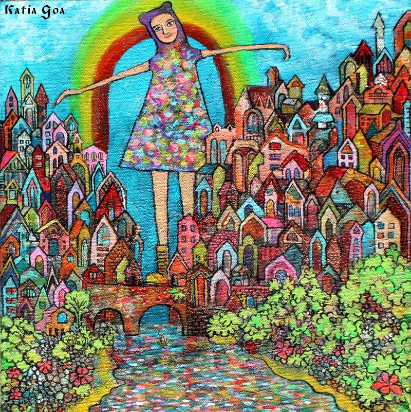 Русско-американская графика Кати Гоа / Katia Goa. 35 работ