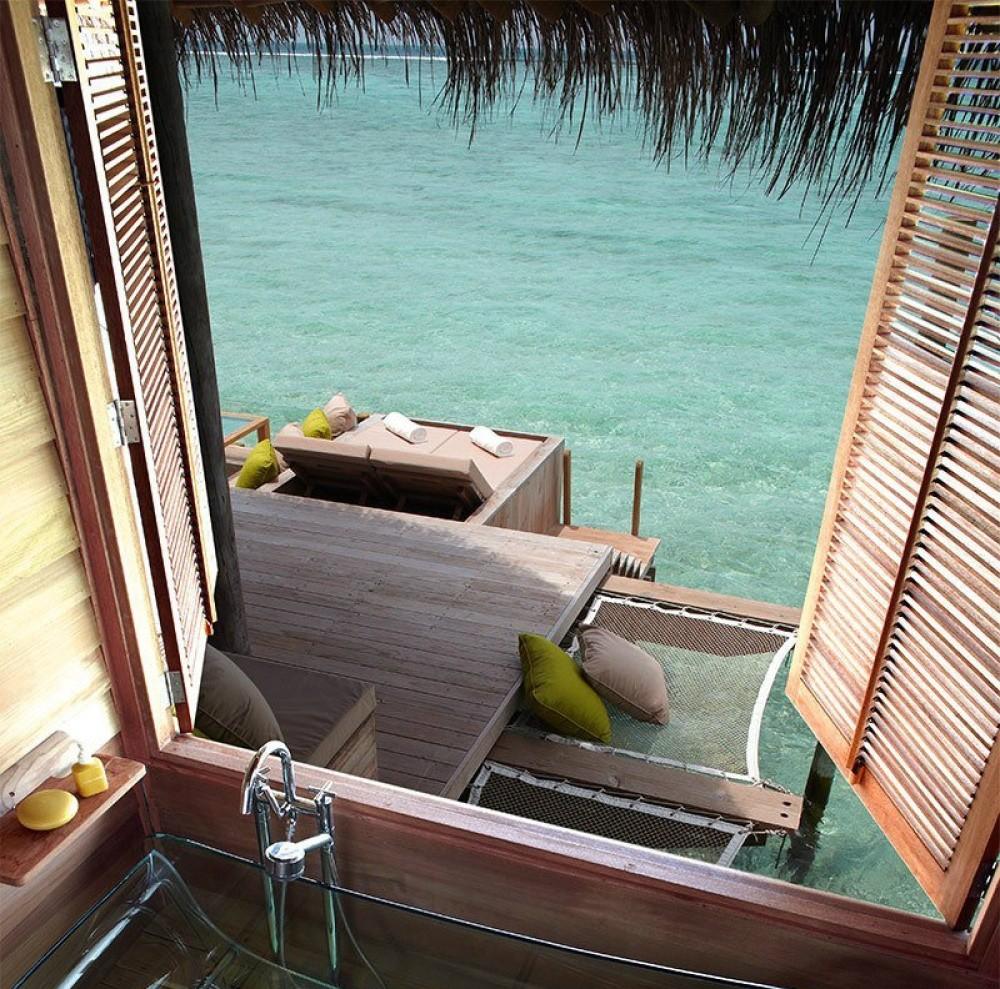 8. Атолл Лааму, Мальдивские острова. (© poboo)