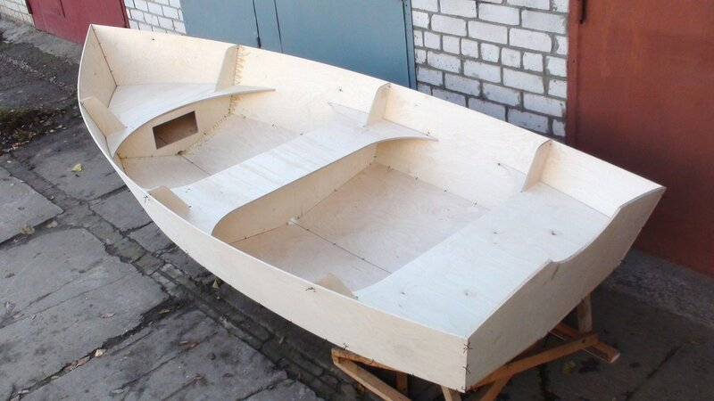Каркас для моторной лодки