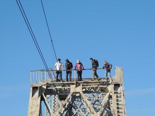 Железнодорожный мост через реку Оредеж
