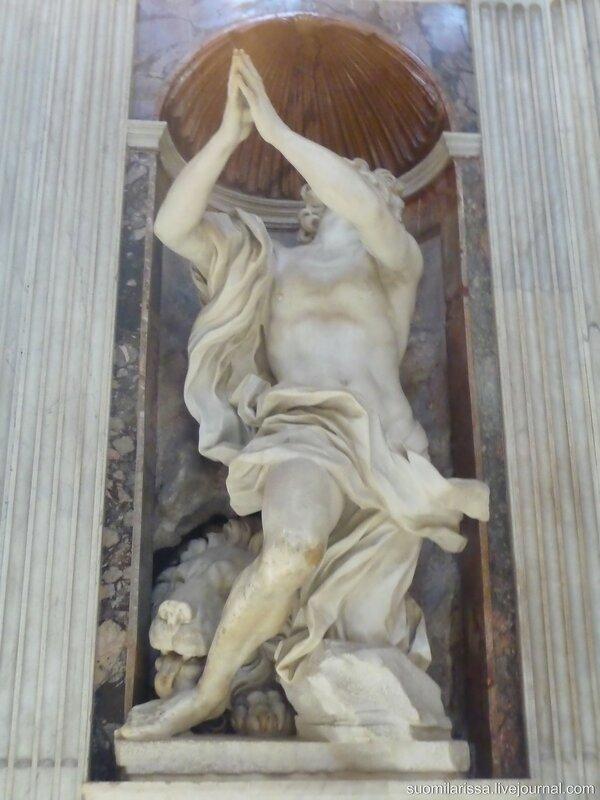 Капелла Киджи. Бернини, 1655.