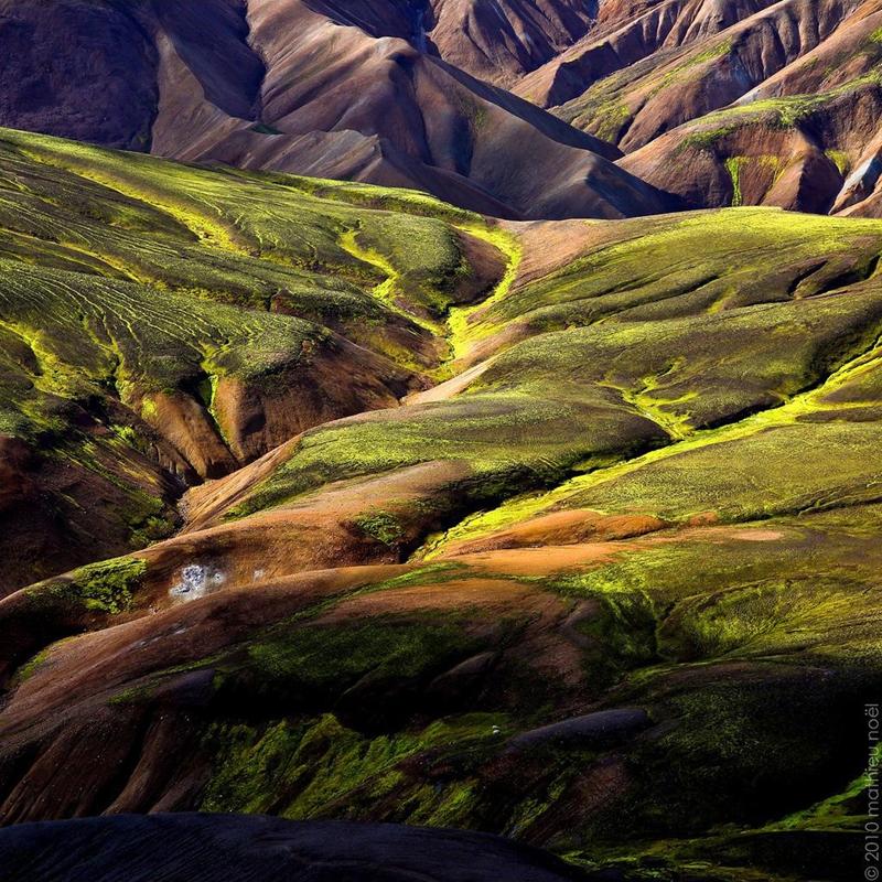 Ландманналаугар. Исландия