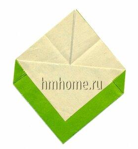 Сердце оригами с карманом