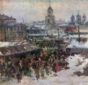 Сергій Шишко. Старий Поділ. 1948.