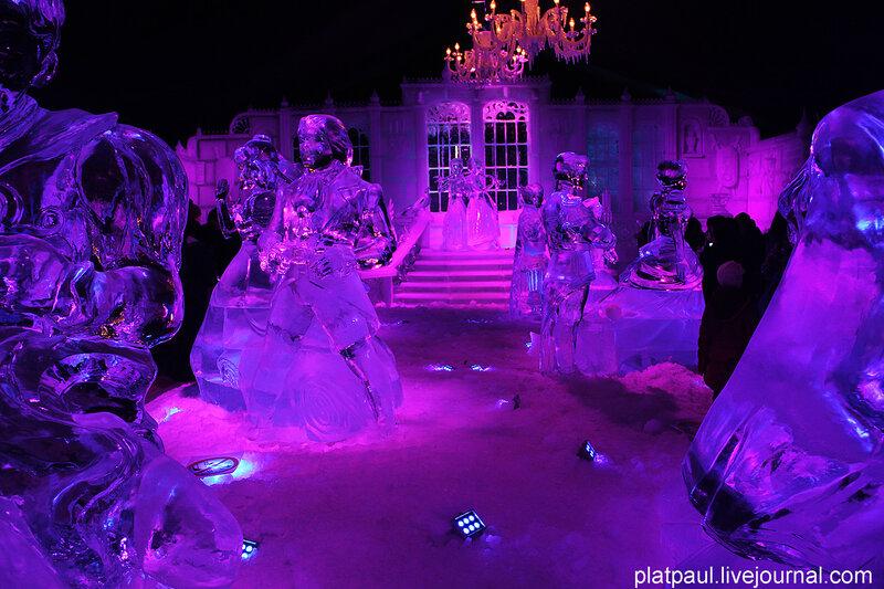 Выставка ледягых скульптур