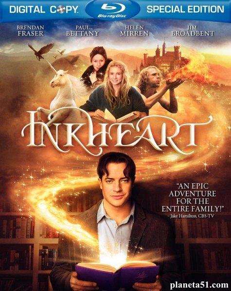 Чернильное сердце / Inkheart (2008/HDRip)