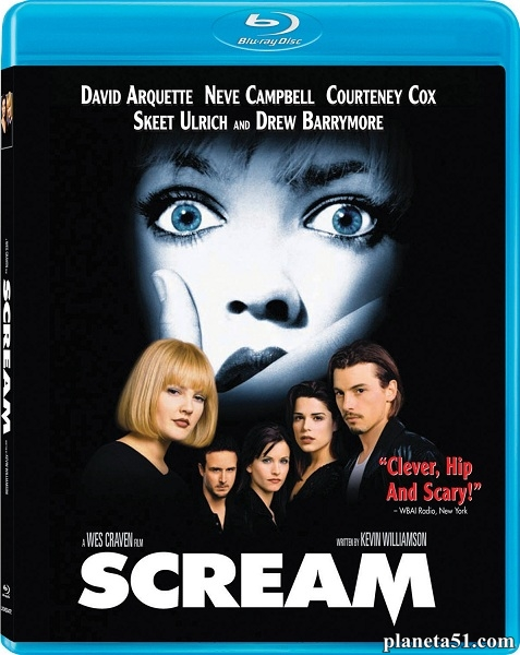 Крик / Scream [Unrated] (1996/HDRip)