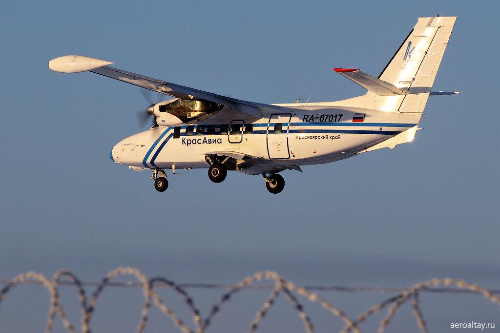 Рейс ЭК 82 прилетел из Красноярска в Горно-Алтайск