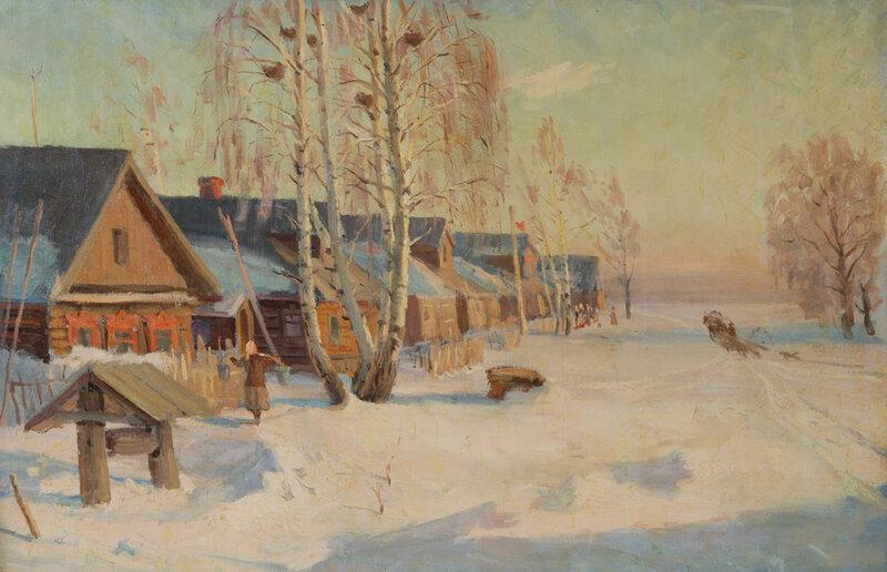 Шурпин Федор Саввич. Март, 1960.