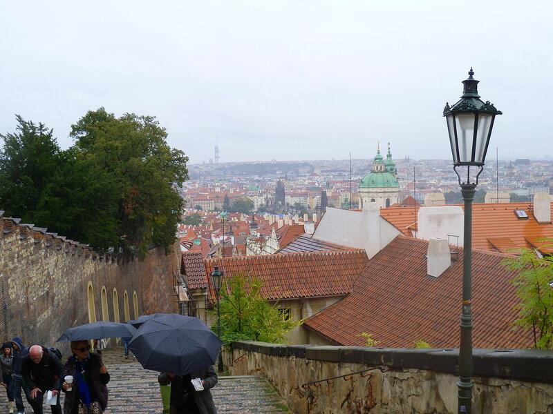 Чехия, Прага - подъем к Пражскому Граду (Czech Republic, Prague - climb to the Prague Castle)