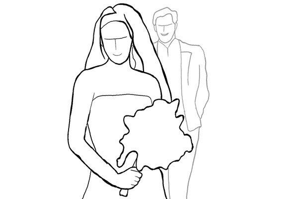 Позирование: позы для свадебной фотографии 18