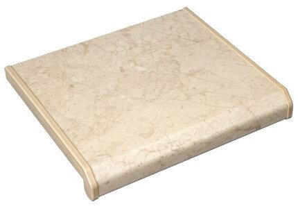 Пластиковый подоконник для окон ПВХ, цвет Турецкий мрамор