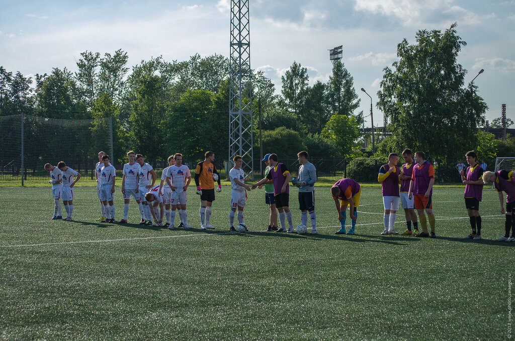Футбол в Колпино