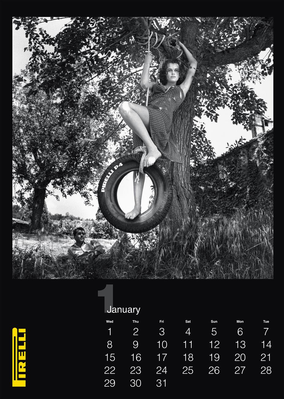 фотограф Хельмут Ньютон / календарь Pirelli 2014 /preview/
