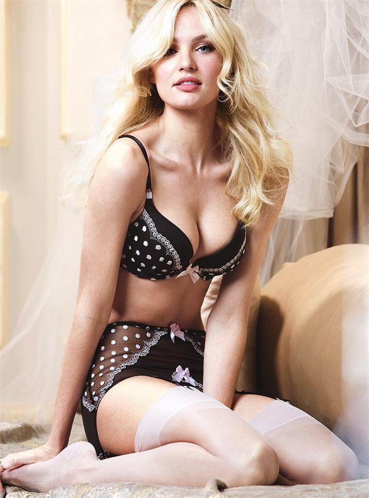 Candice Swanepoel / Кэндис Свейнпол в нижнем белье Victoria's Secret january 2014