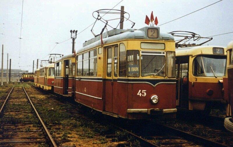 В 1965 году «Главтрамвай»