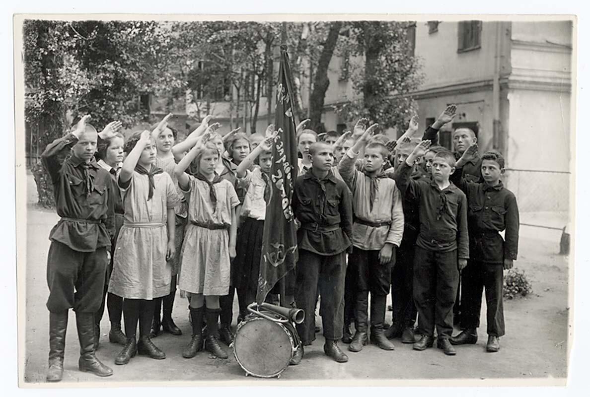 1918 г. Первый советский детский дом