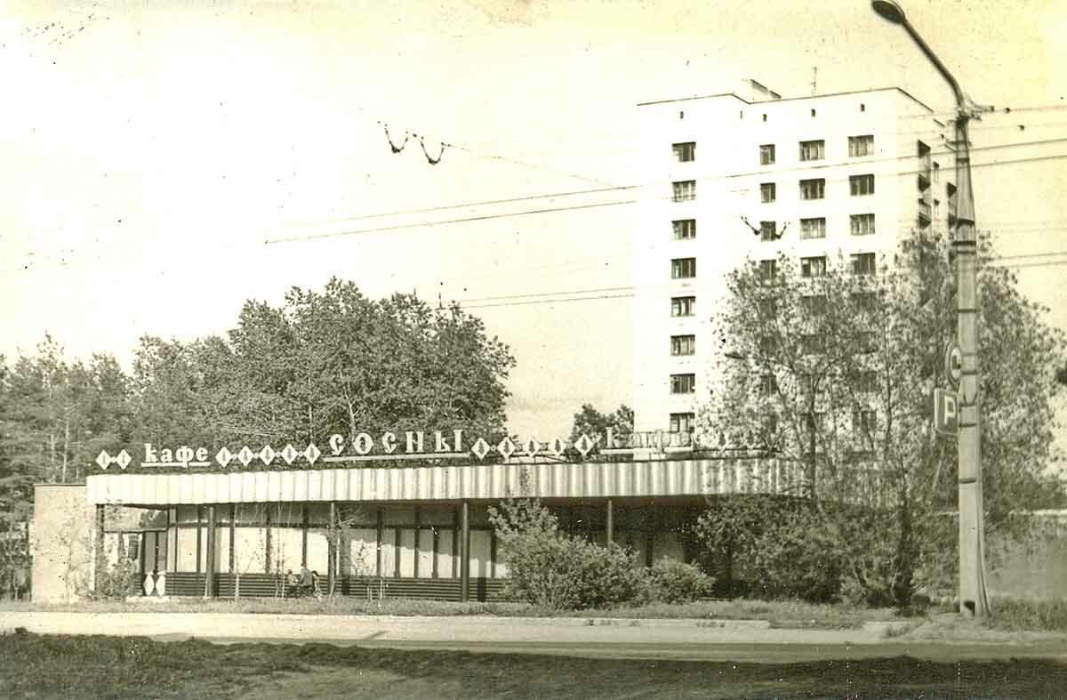 Кафе «Сосны» на шоссе Космонавтов