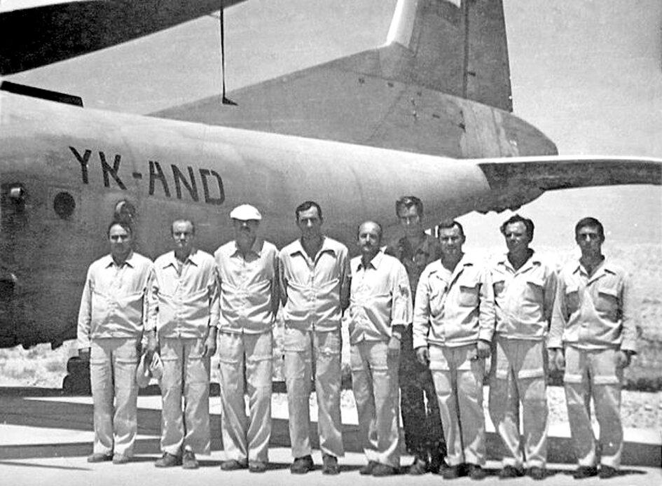 1980. Сирия. Экипаж подполковника Сорокина