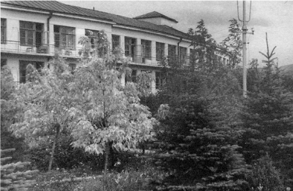 Санаторий КСУ. Корпус № 1 (жилой)