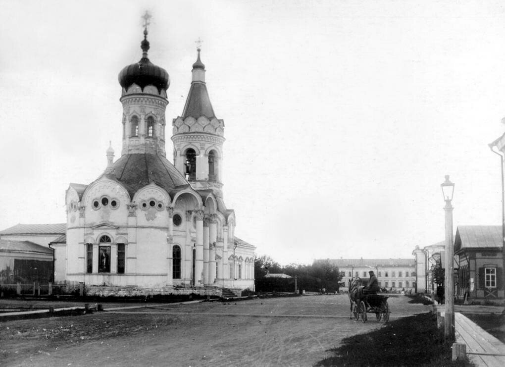 Никольский приходской храм. 1894
