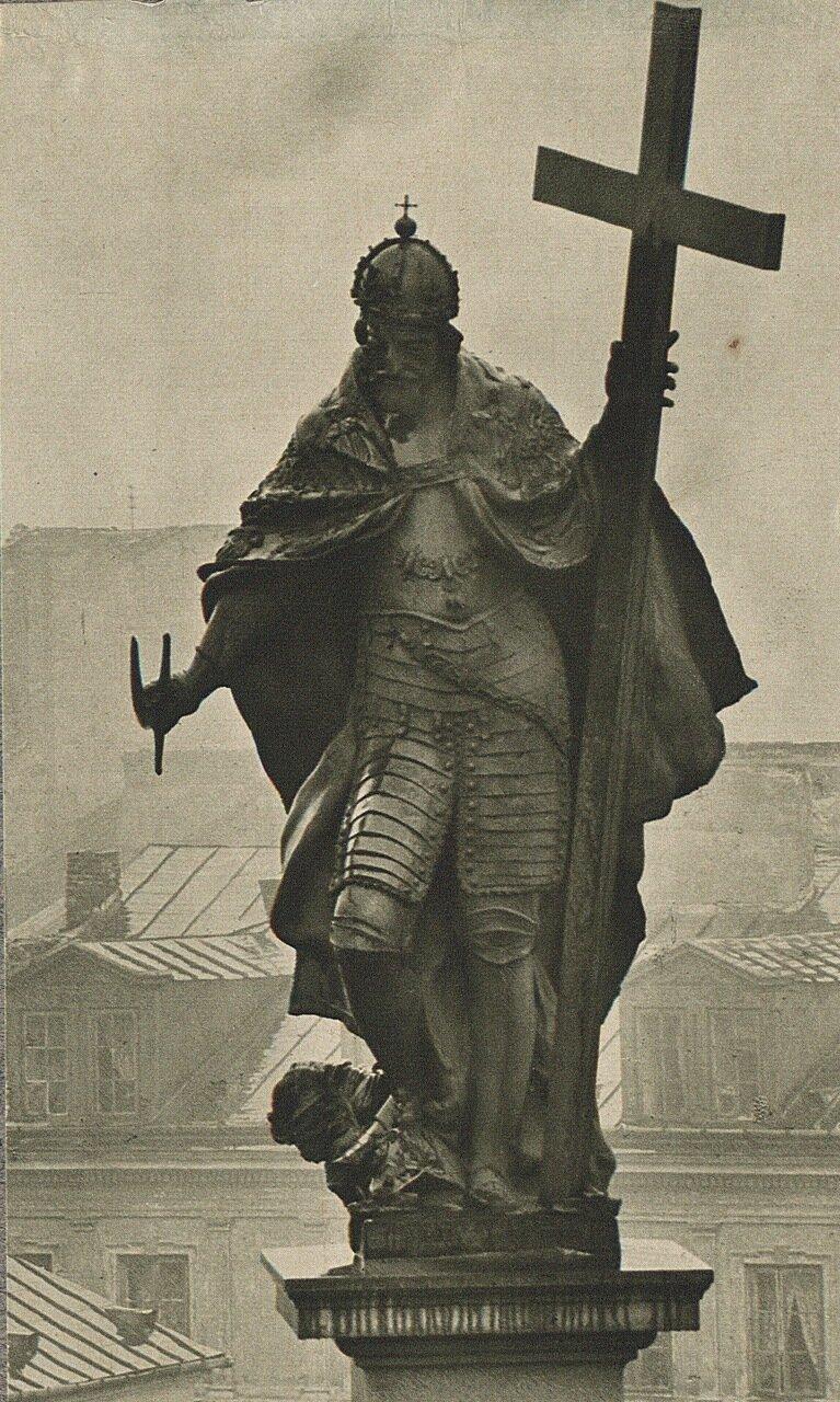 Варшава. Навершие колонны Сигизмунда