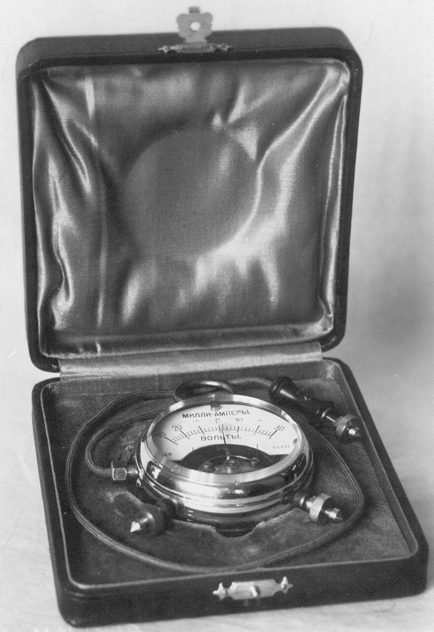 19. Внешний вид измерительного прибора Миллиамперметр