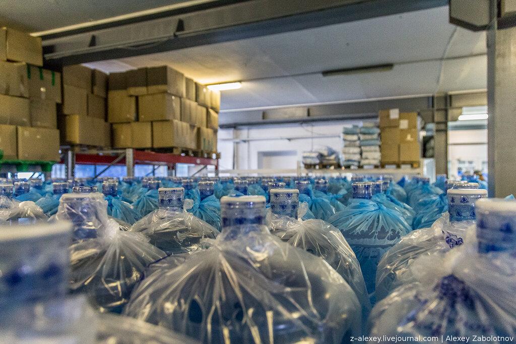 Блог-тур на завод по производству воды