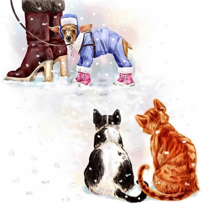 Картинки, с первым днем зимы прикольные картинки гифки