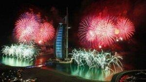 Дубаи войдет в книгу рекордов по фейерверкам