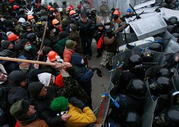В Киеве возобновились беспорядки