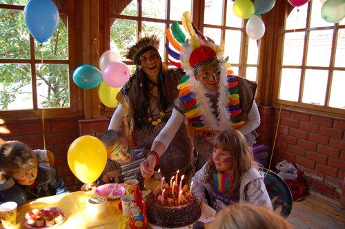 Отличный детский день рождения радует всю жизнь