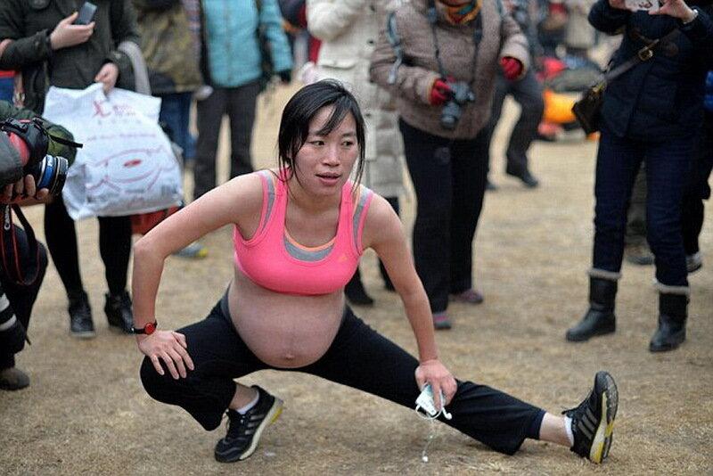 Беременной в китай