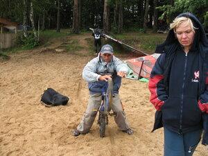 Виндсерфинг клуб Истра осенью 2006