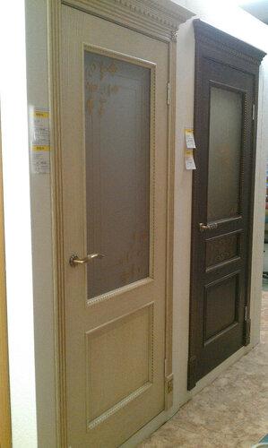 Двери из массива дуба в- satukz