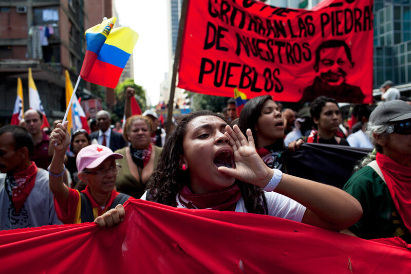 APTOPIX Venezuela Protests