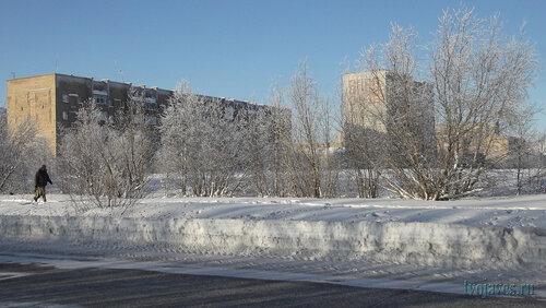 Фото города Инта №6440  Куратова 62 и 60 12.02.2014_12:46