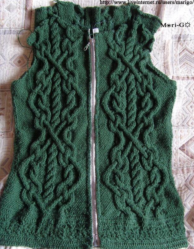 Осинка вязание аранов 26