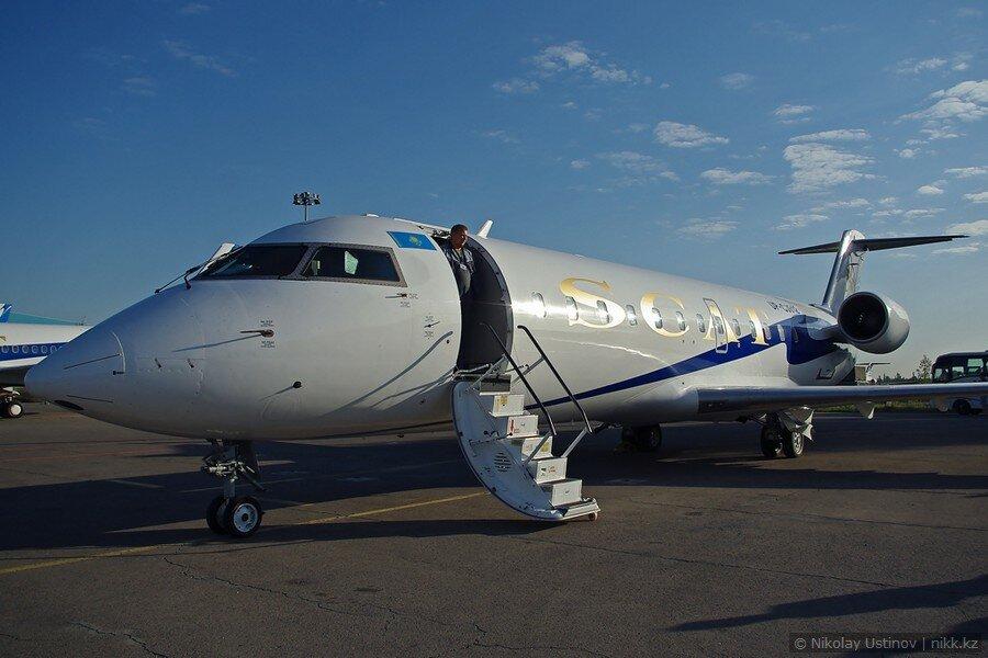 Bombardier CRJ 200 авиакомпании Скат