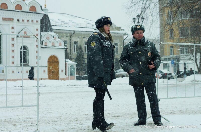 Митинг в защиту чести и достоинства Фролова Г.В., Саратов, площадь Чернышевского, 05 февраля 2014 года