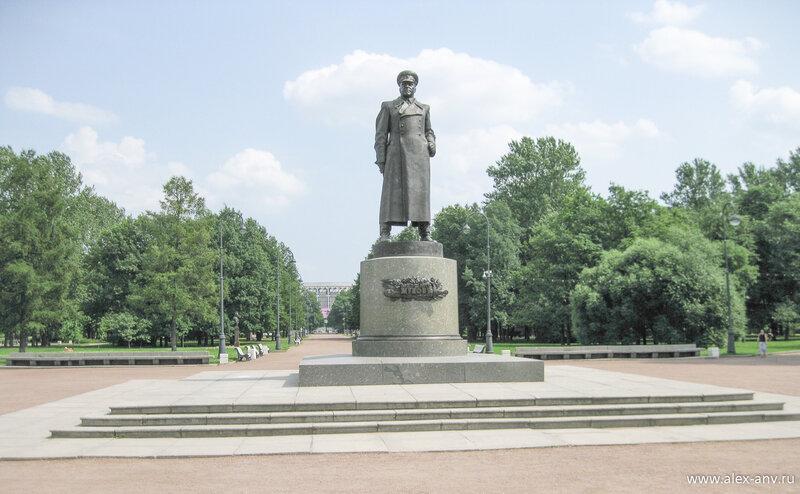 Московский парк Победы. Г.К.Жуков