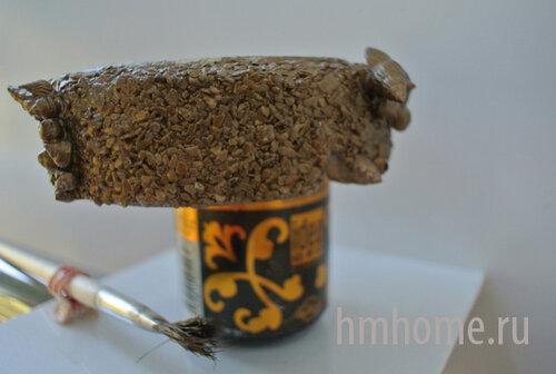 Декорирование пепельницы