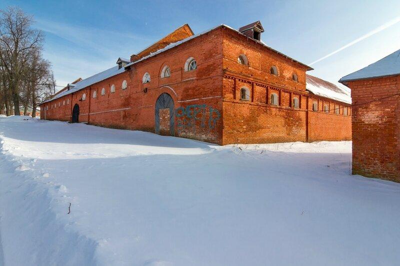 Конный двор, усадьба Ольгово