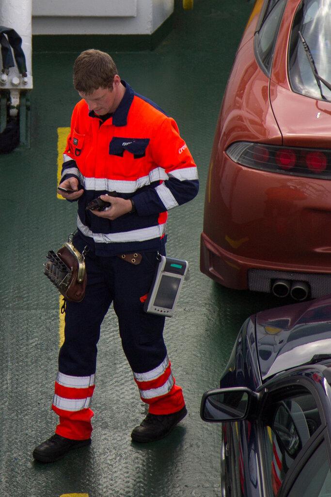 Рабочий в Норвегии