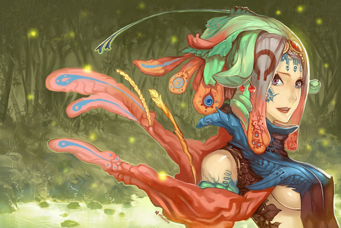 Manga/Anime Styled Paintings by Hector Sevilla Lujan