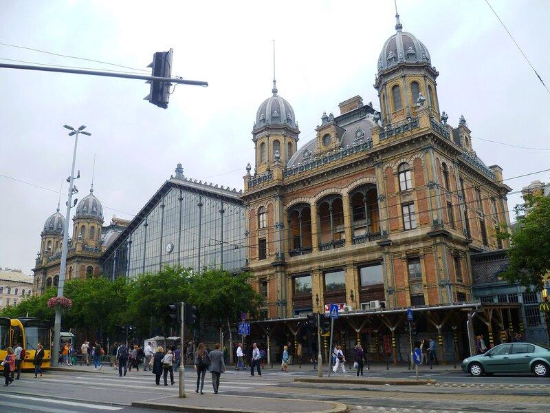 Вокзал Ньюгати в Будапеште (Nyugati Station in Budapest)